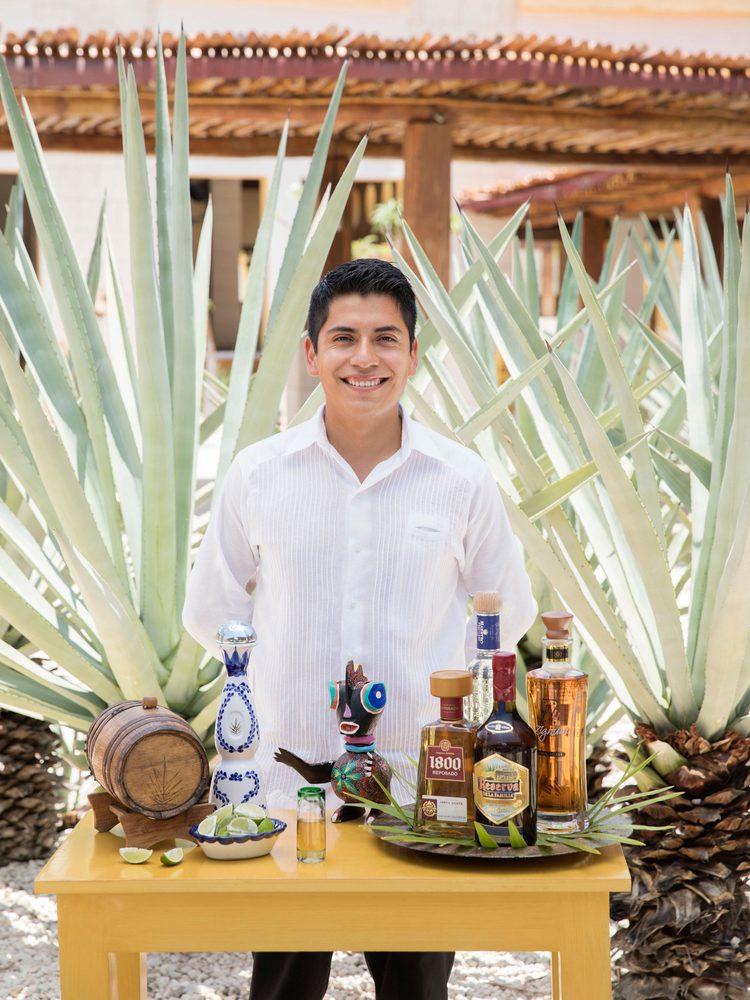 Tequila Tasting at a Cancun Resort