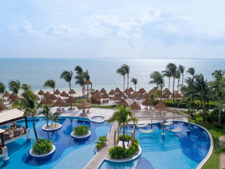 Excellence Playa Mujeres Beachfront Main Pools