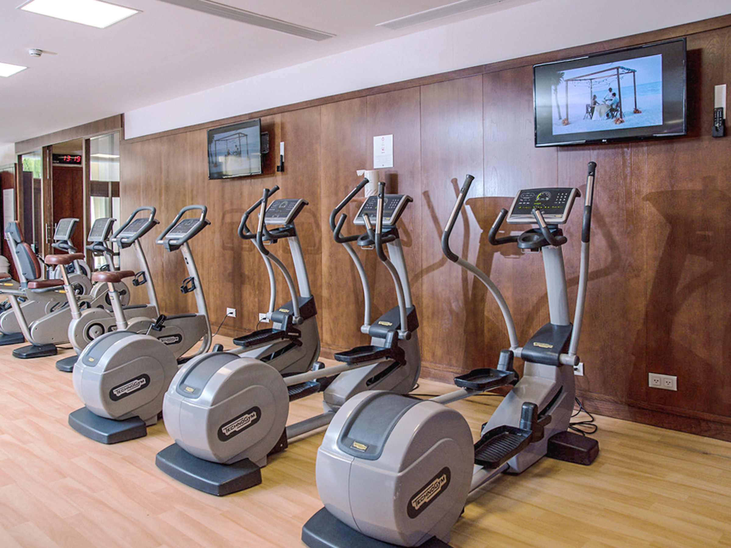 Gym in a Cancun Resort