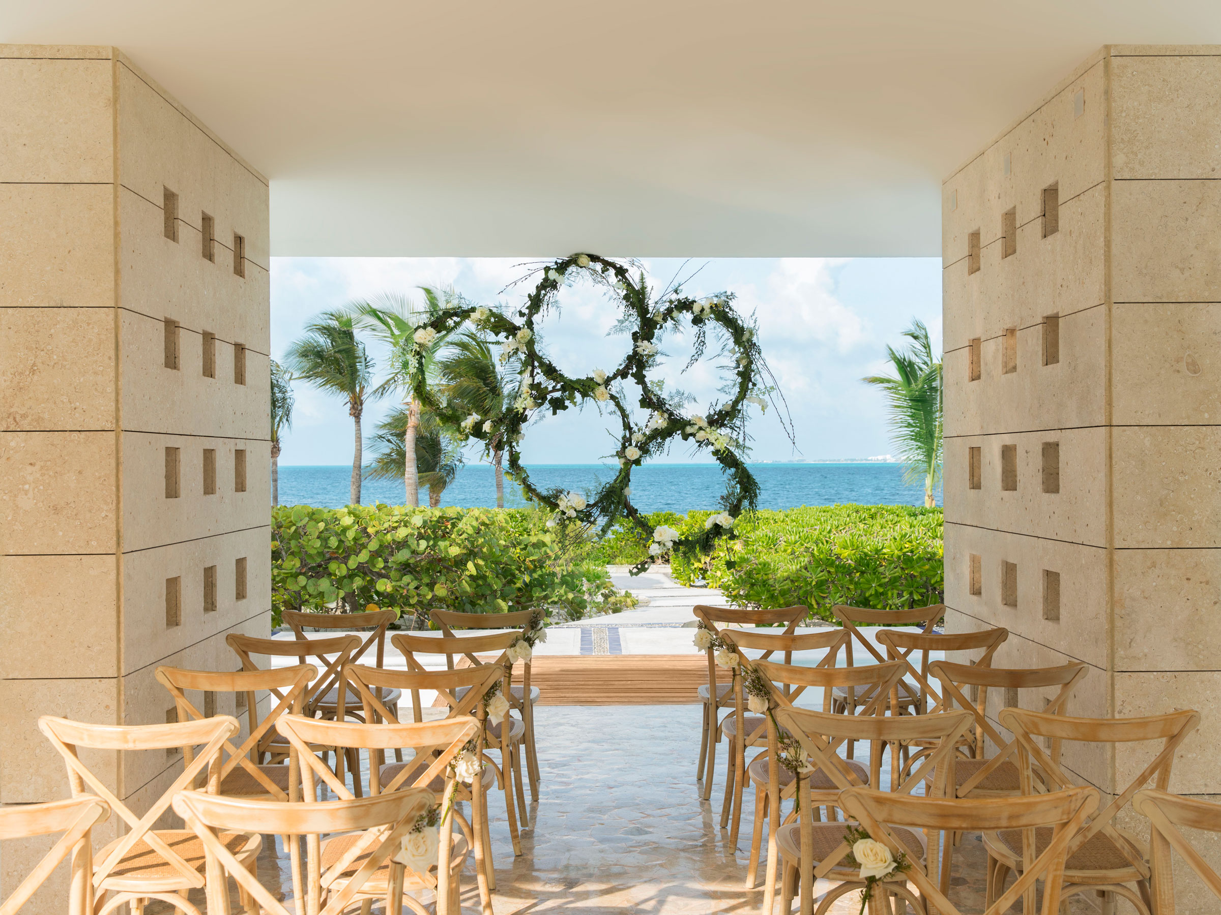 Cancun Wedding Resort with an Ocean View Ceremony