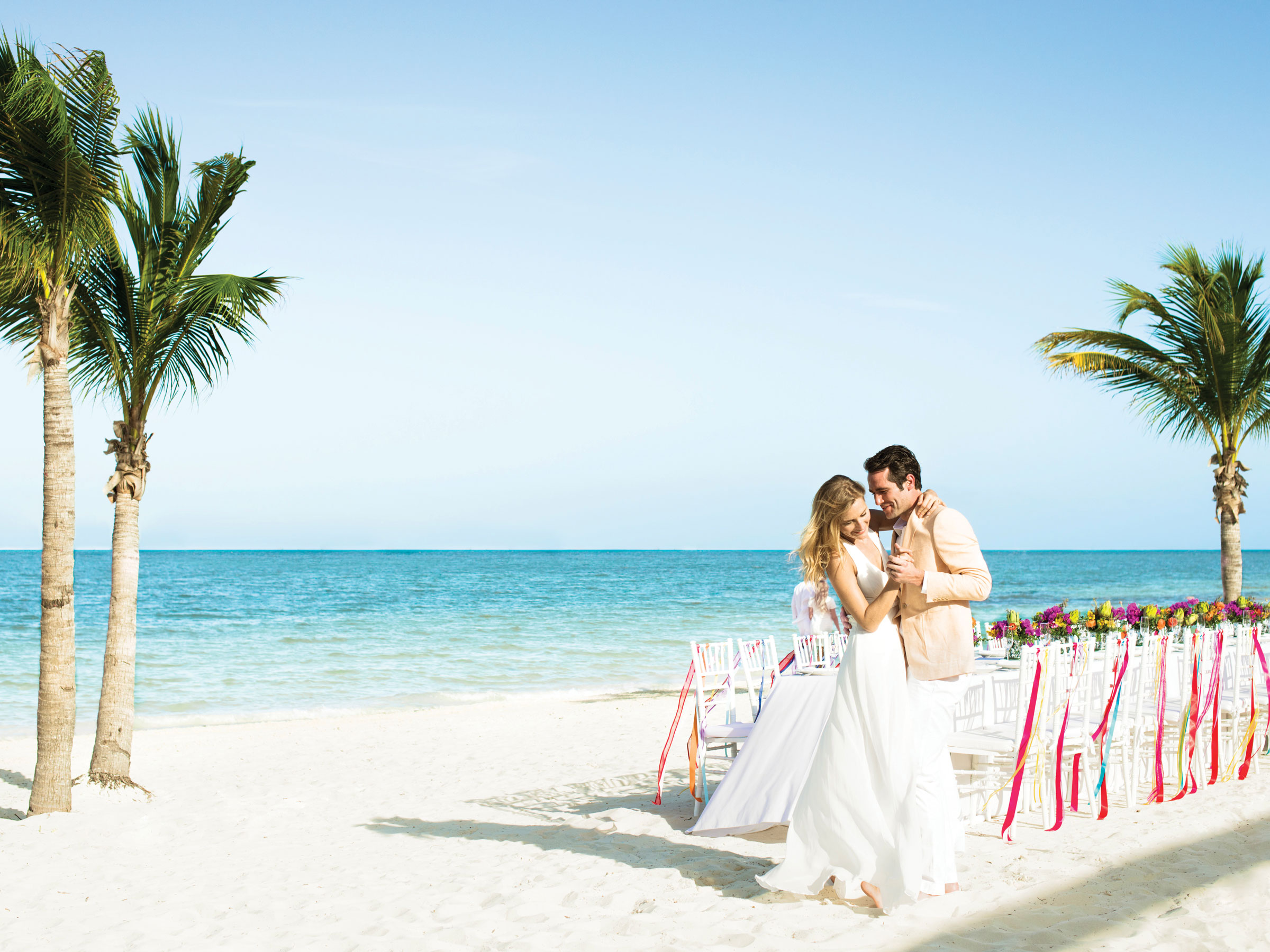 Destination Wedding in a Caribbean all inclusive