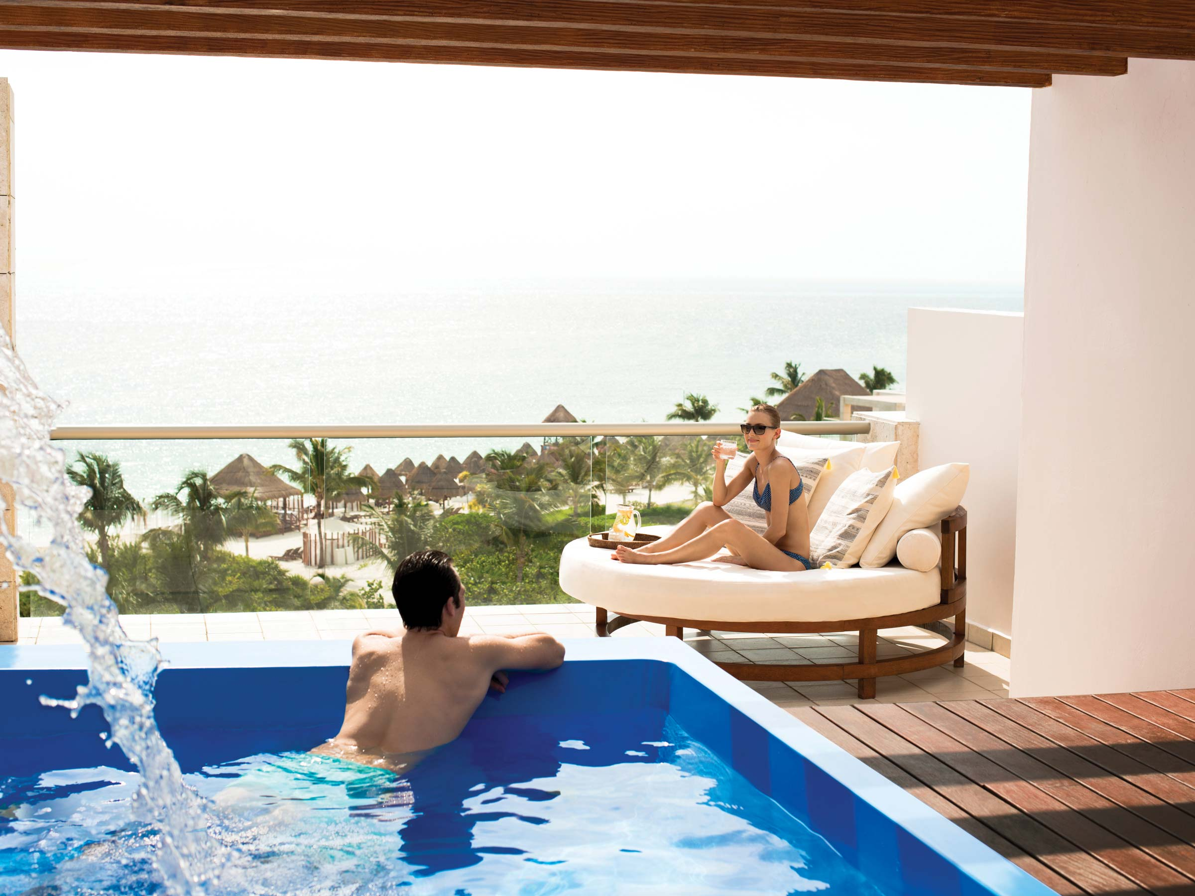 Luxury All Inclusive Cancun Ocean View Suite