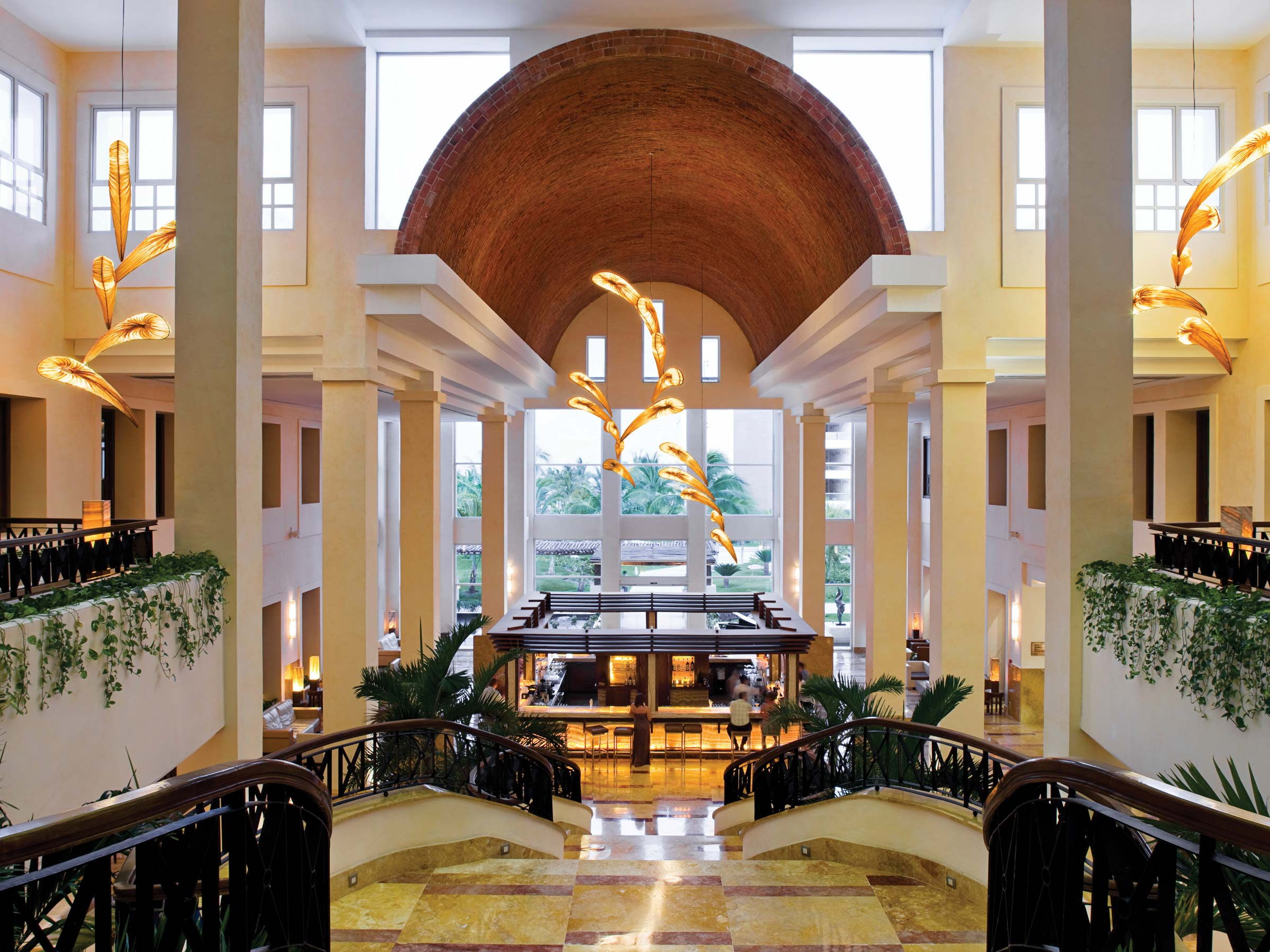 Lobby del Resort Excellence Playa Mujeres
