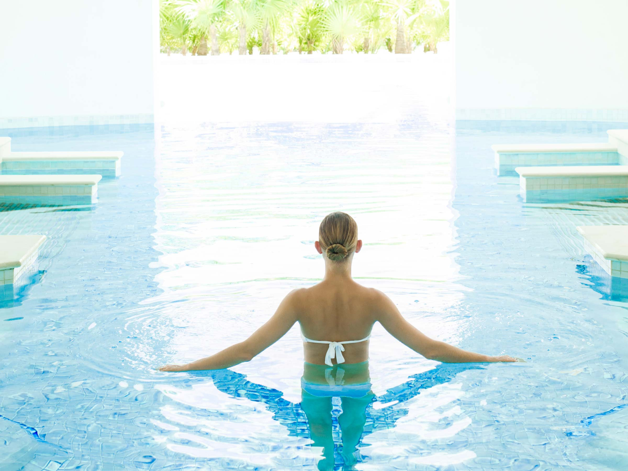 Excellence Playa Mujeres Spa Hydrotherapy Pool